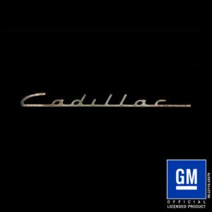 cadillac valve cover logo