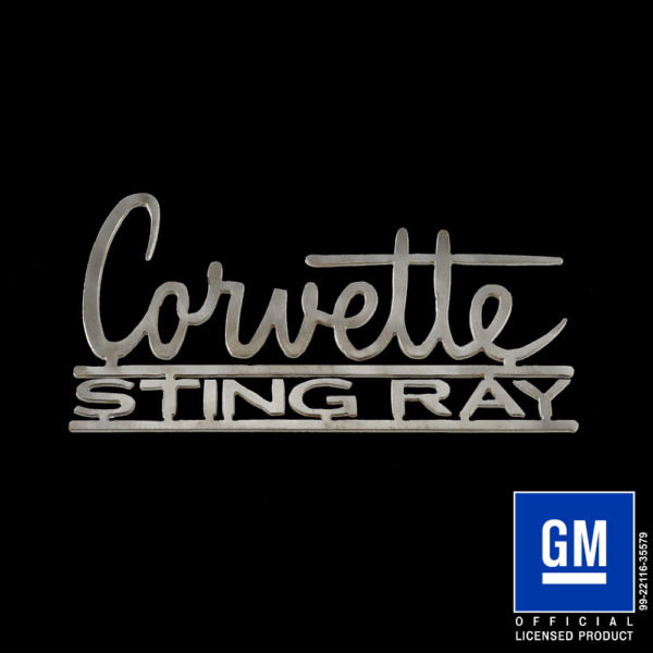 corvette sting ray logo