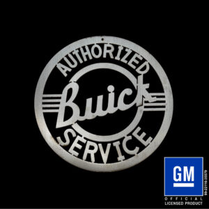 buick service sign