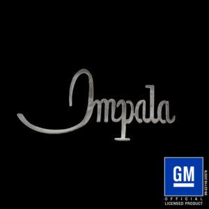 impala 1968 script logo