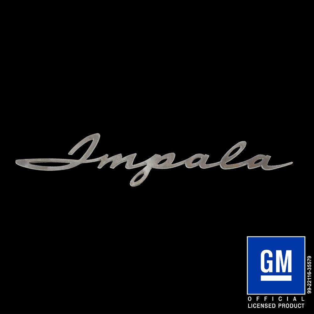 Impala 1961 script logo speedcult officially licensed impala 1961 script logo buycottarizona Images