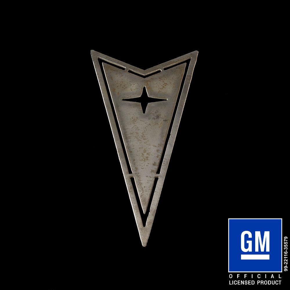 Pontiac Arrow Head Logo Speedcult Officially Licensed