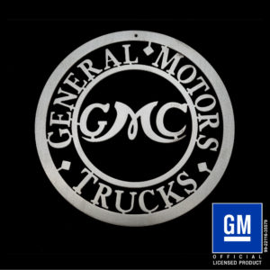 gmc trucks sign
