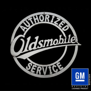 oldsmobile service sign