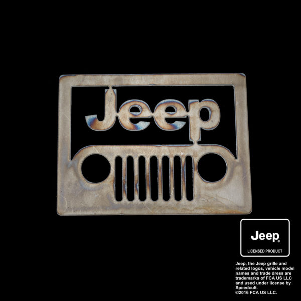 jeep front view logo