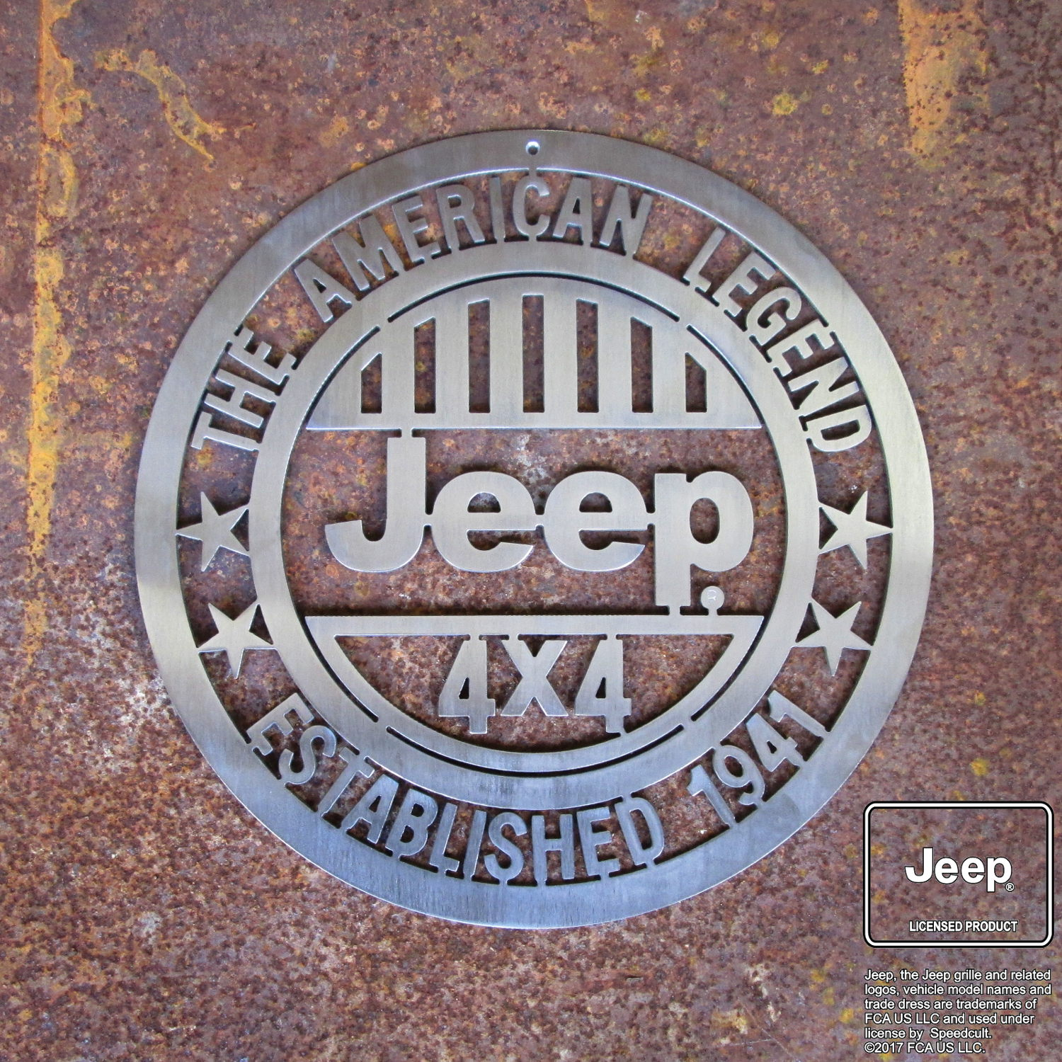 ba1974cc24f Jeep® American Legend Sign - Speedcult Officially Licensed