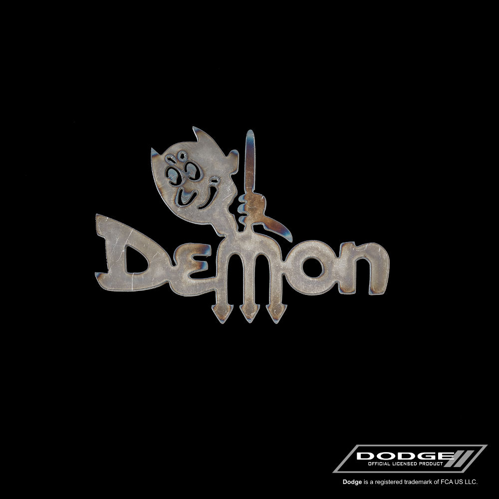 dodge dart demon logo speedcult officially licensed