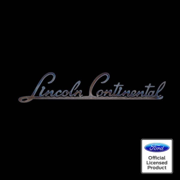 lincoln continental script