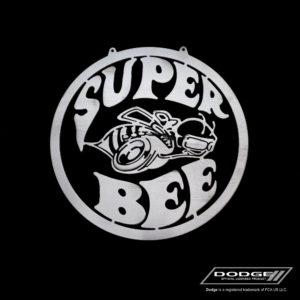 dodge super bee sign