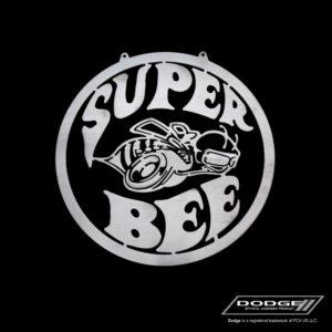 dodge super bee sign