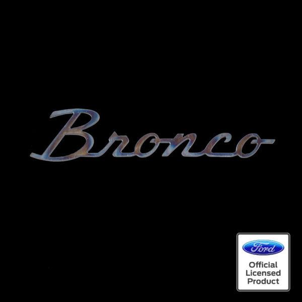 ford bronco script