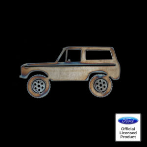 ford bronco silhouette