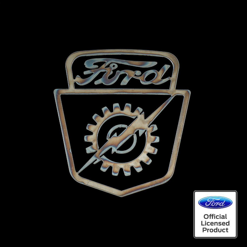 ford lightning bolt logo  sc 1 st  Speedcult Officially Licensed & Ford Lightning Bolt Sign - Speedcult Officially Licensed
