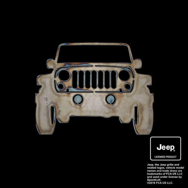 jeep front view silhouette