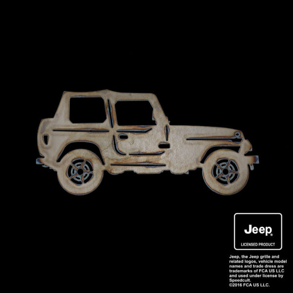 jeep side profile silhouette