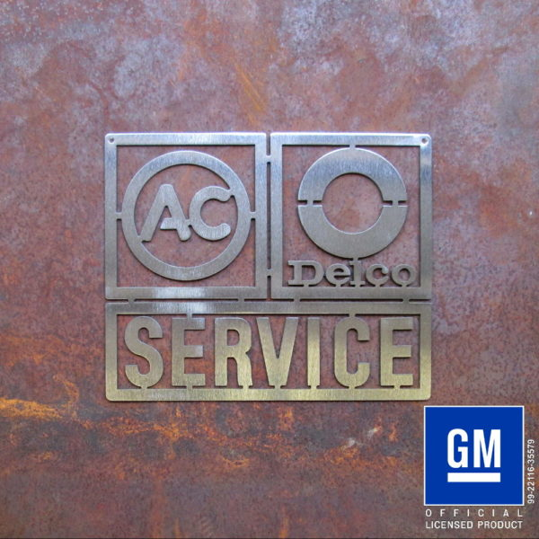 AC Delco Service Sign