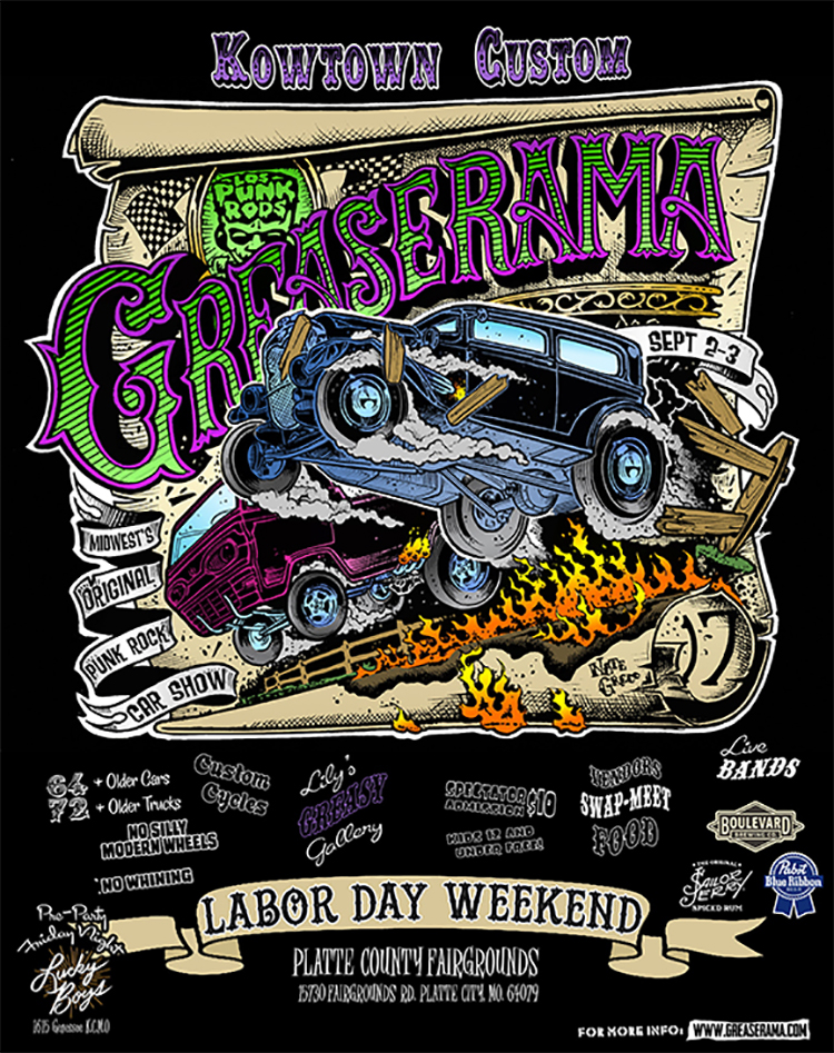 greaserama big poster 2017