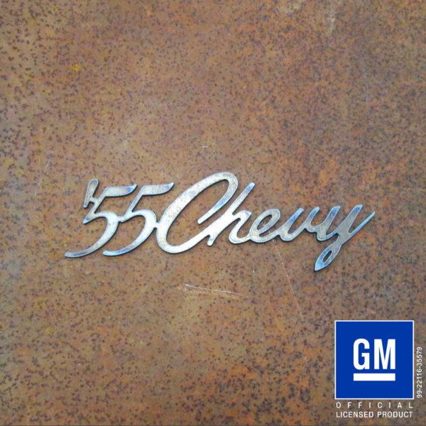 '55 chevy script