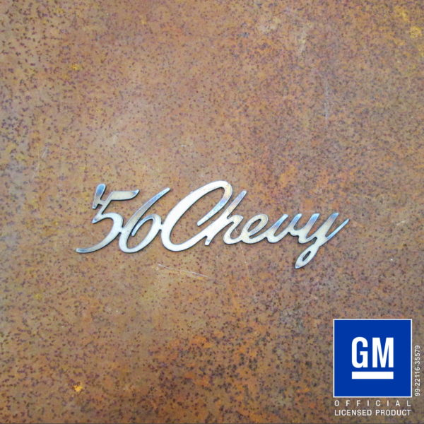 '56 chevy script
