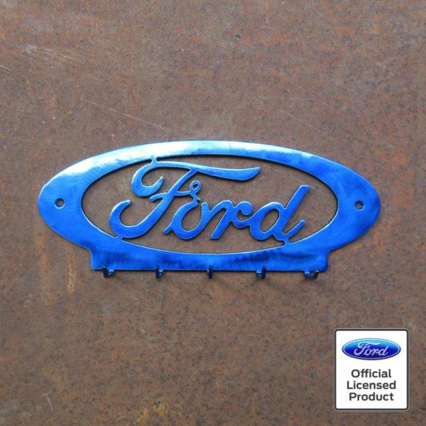 ford oval keyring holder