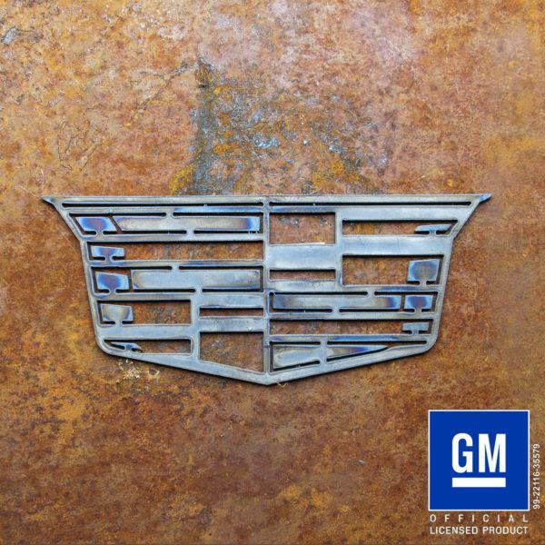 cadillac crest modern symbol
