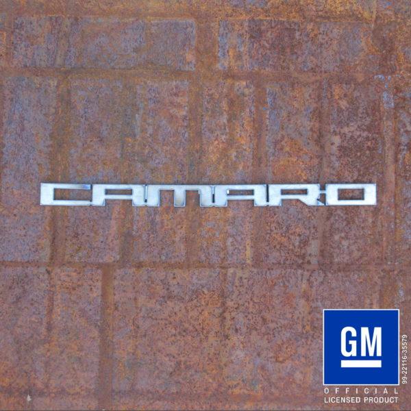 camaro 2010 text logo
