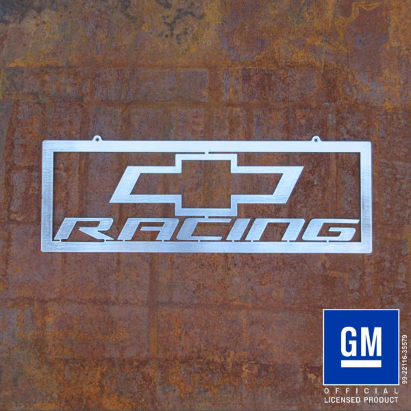 chevy racing sign