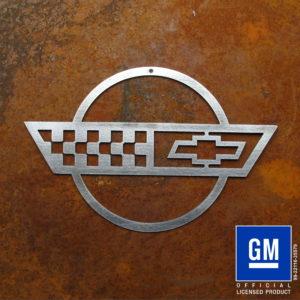 Corvette C4 Flag Sign
