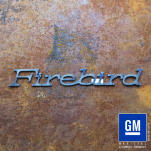 Firebird 1976 Text Logo