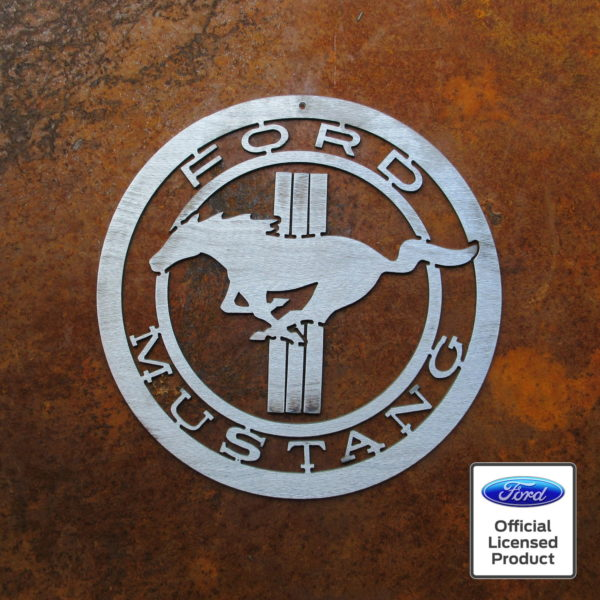 mustang pony sign