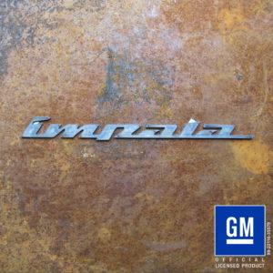 impala nineties script logo