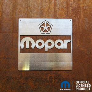 mopar 1972-84 metal sign