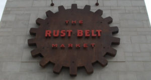 rustbelt market sign image