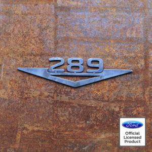 ford 289 engine logo cutout