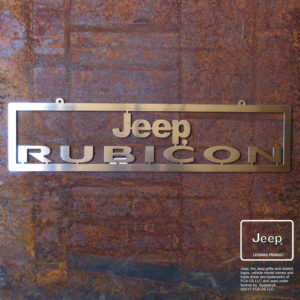 Jeep® rubicon sign